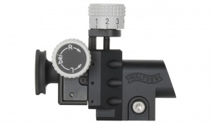 Walther INSIGHT-OUT match diopter competition sight BLACK