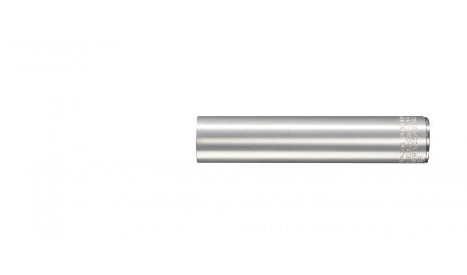 Walther SLIMLINE Compact Aluminium Air Cylinder 200 bar, for LP400/AP20 in silver