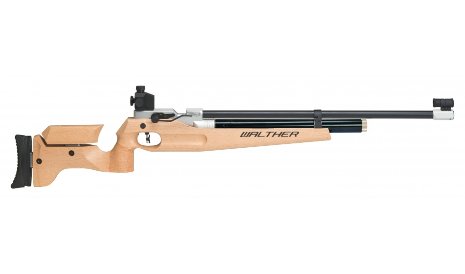 Walther LG400 Universal Match Air Rifle, right+left