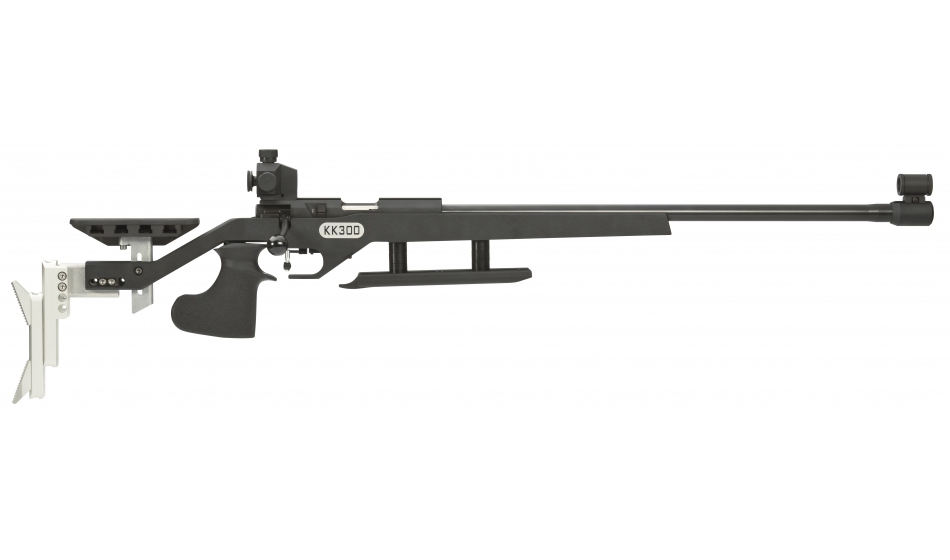 Walther KK300 Blacktec Match Small-Bore Rifle, right-handed system, right/left grip
