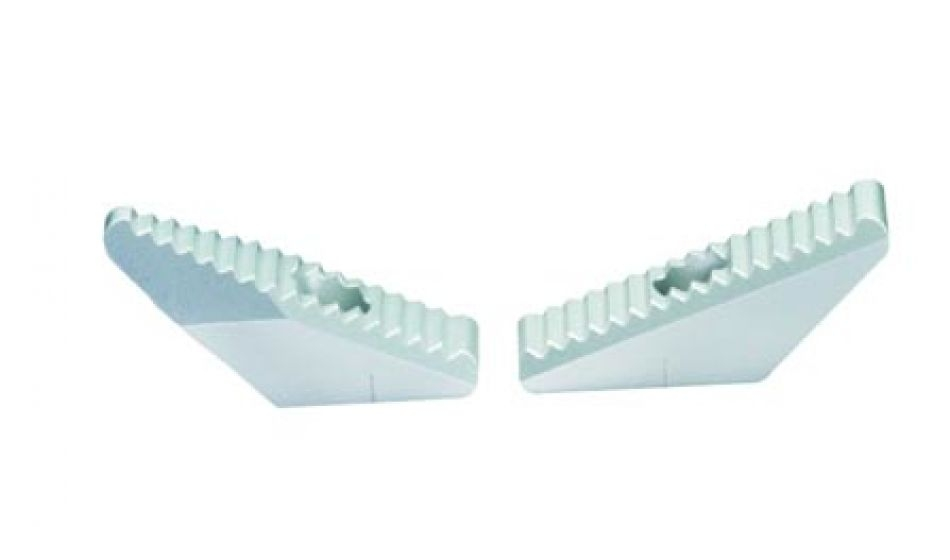 Set of Walther aluminium butt plate wing SINUS