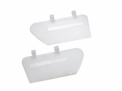 Side clip for shooting glasses (1 pair) transparent