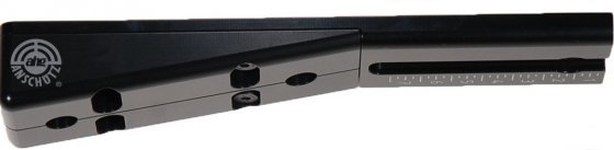 Angel 10° adjustable forend rest for prone and kneeling shooting