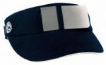 ahg-SHOOTING CAP deflector with eyeflap without head part, blue