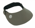 ahg-NEOPREN-CAP de luxe, dark grey, shield length 10 cm