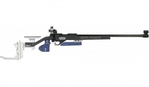 Walther KK300 Blacktec Plus Match Small-Bore Rifle, right-handed system, right/left grip