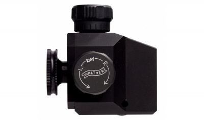 Walther BASIC match diopter, black competition sight