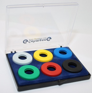 Gehmann 507 Colour Ring Set USED