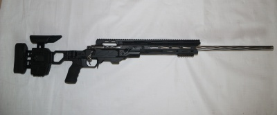 Custom Long Range Rifle Cedex Duel Strike, Defiance action, Palmer Long Range Fluted Barrel