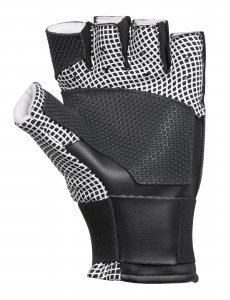 black grip shooting glove (medium)