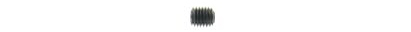 Threaded pin ISO 4026 - M2  x  3 - 45H