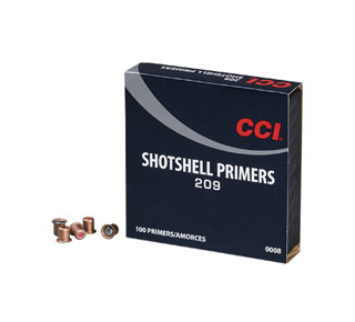 CCI No. 209 Shotshell Primers (Pkt.1000) - Collection Only