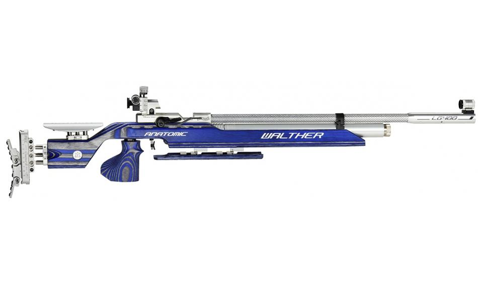 Walther LG400 Anatomic Expert, BLUE ANGEL, M Grip, Match Air Rifle