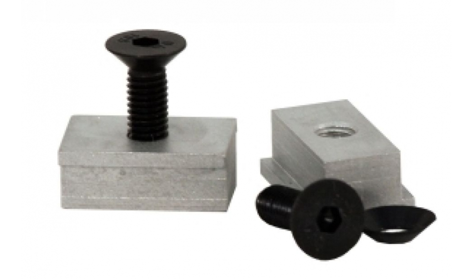 Walther Fixing set for T-slot rail