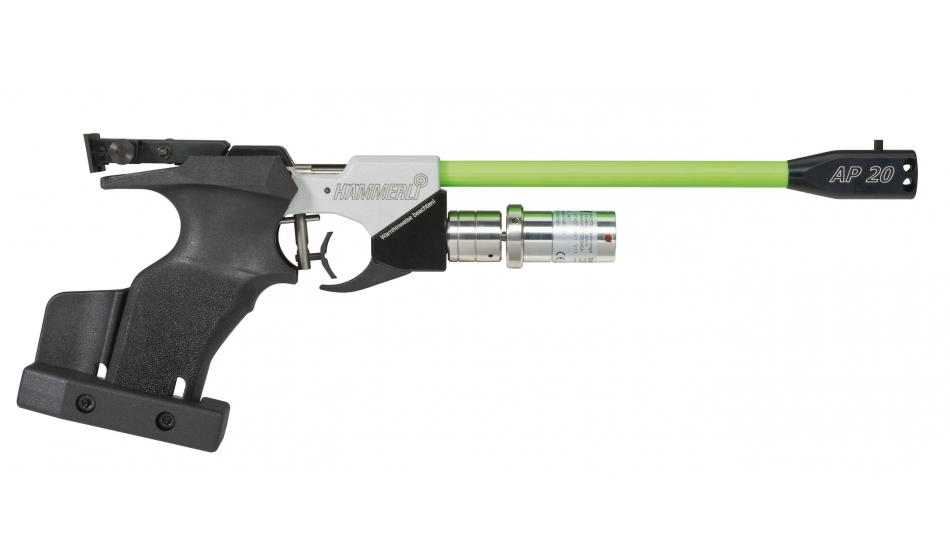 Hammerli AP20 Hybrid LTS Air Pistol, Universal right/left