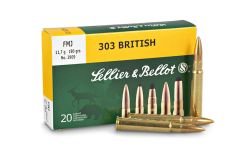 .303 British S&B FMJ BT 180gr Rifle Ammunition (20 Round Pack)  - Collection Only)