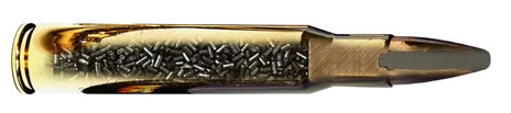 8x57 JS Grom PPU 185gr Rifle Ammunition (20 Round Pack) - Collection Only