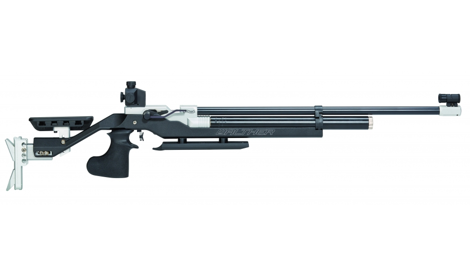 Walther LG400 Blacktec Match Air Rifle right+left