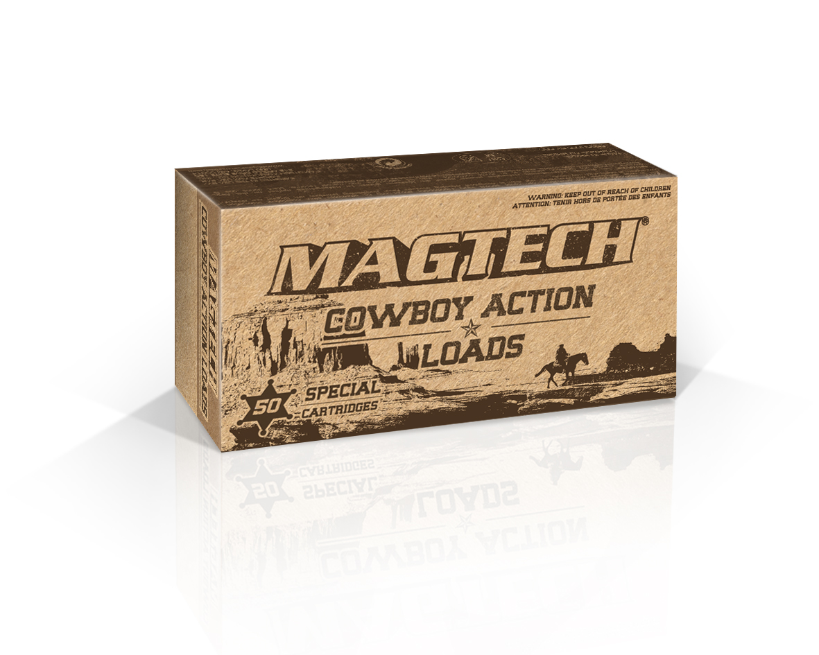 .38 Special Magtech 158gr Ammunition LFlat (50 Round Pack) - Collection Only
