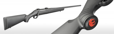 Ruger American Rifle Matte Black 308Win 22''