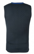 SHOOTING VEST, without sleeve, blue-black