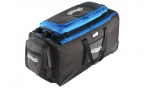 Walther sport bag, blue, trolley, detachable exterior pocket