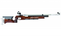Walther LG400 Match Air Rifle with wooden stock for free-rifle competitions, right+left