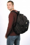 Transport Back-Pack for pistol shooters