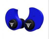 Custom Molded Earplugs BLUE