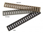 Black Hawk LOW PRO RAIL LADDER (18 SLOT) FDE