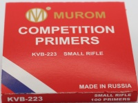 Competition Primers - Small Rifle (100Pack)