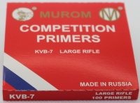 Competition Primers - Large Rifle (100Pack)