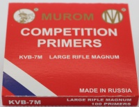 Competition Primers - Large Rifle Magnum (100Pack)