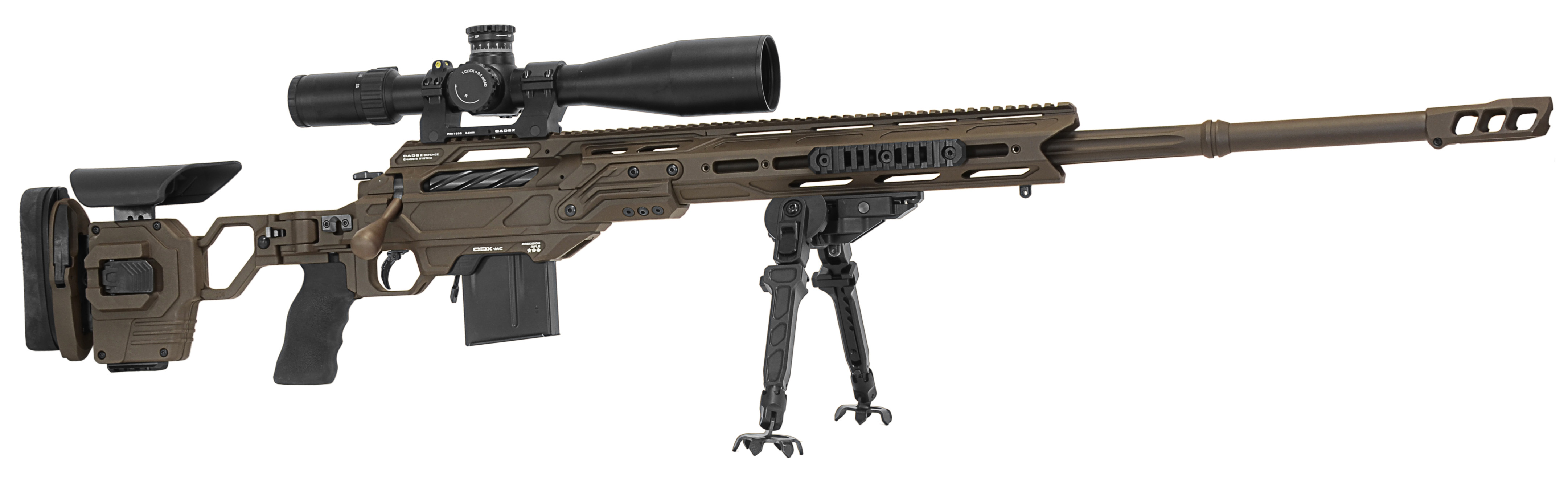 Kraken Multi-Caliber rifle