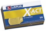 Lapua X-act 0.22LR (500 Rounds) - Collection Only