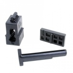 AR-15 / M16 Upper and Lower Receiver Magazine Well Vise Block Set