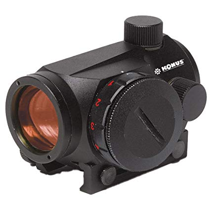 KONUS SIGHTPRO RED DOT WITH DUAL MOUNT